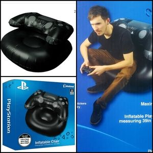 🆕️ PLAYSTATION Inflatable Gaming Chair!
